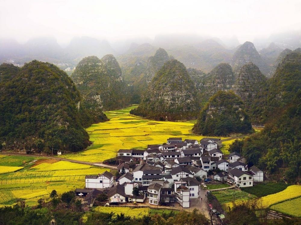 Синьо, Китай