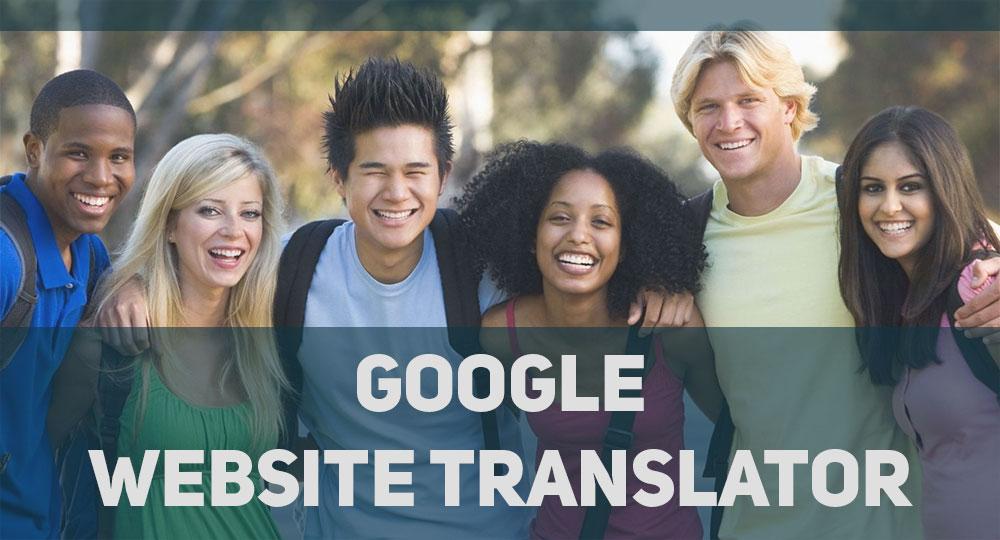 Переводчик для сайта Google